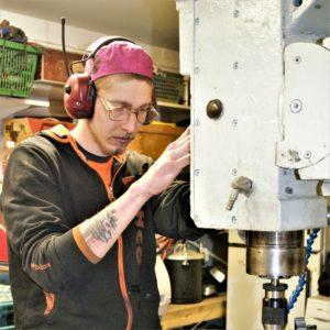 Oskari Virta, mechanical maintenance